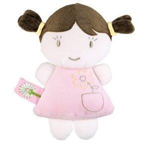 Dandelion Organic Baby Doll Rattle