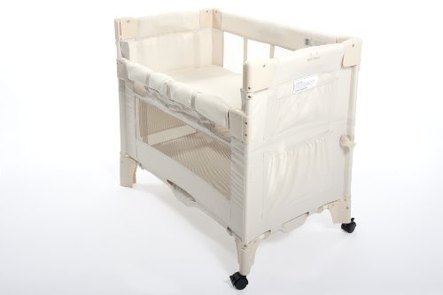 Arms Reach Co-Sleeper brand Mini Co-Sleeper Bassinet - Natural Image