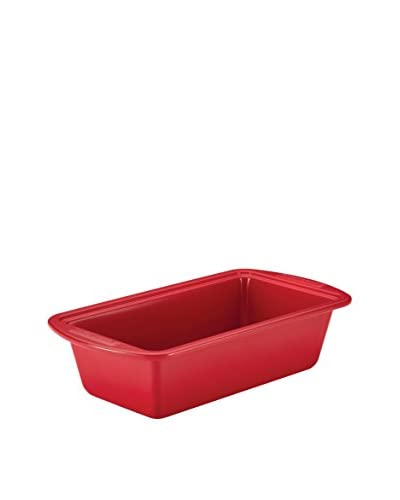 "SilverStone Non-Stick Ceramic 9"" x 5"" Loaf Pan, Chili Red"