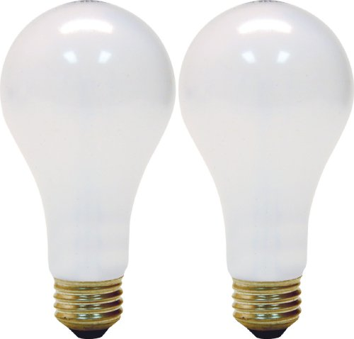 Ge Lighting 97763 50/100/150-Watt 615/1540/2155-Lumen A21 3-Way Light Bulb, Soft White, 2-Pack front-552855