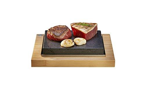 The SteakStones Sizzling Steak Plate