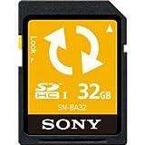 ソニー SDHCメモリーカード 32GB (バックアップ機能付) SN-BA32