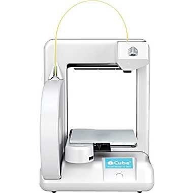 Cube 3D Printer - White - with UK main dealer support