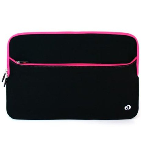 Kroo GLOVE 2 with Pocket for 15.6-Inch Notebook (Magenta)