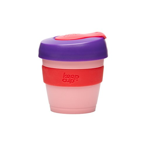 Keepcup The Worlds First Barista Standard 4-Ounce Extra Small Reusable Cup, Bpa Free, Candy