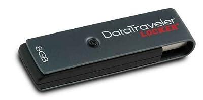 Kingston 8GB DataTraveler Locker+ USB Flash Drive withEncryption by KIngston
