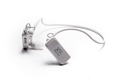 Aquanote Impermeabili XSORIES Cuffie con MP3 Player - bianco