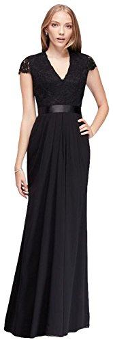 long-chiffon-dress-with-scalloped-lace-bodice-style-39j006-black-8