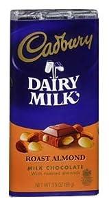 Amazon Com Cadbury Dairy Milk Roast Almond Milk