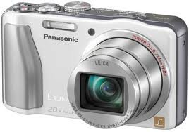 Panasonic Lumix ZS20 14.1 High Sensitivity MOS Digtial Camera with 20x Optical Zoom (White)
