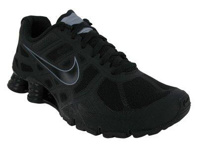 new style 77aed 306b5 Nike Shox Turbo+ 12 Mens Running Shoes  454166-001  Black Black-Metallic  Cool Grey-Metallic Cool Grey Mens Shoes 454166-001