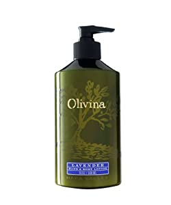 Olivina Moisturizing Hand and Body Lotion, Lavender, 9.75-Ounce by Olivina