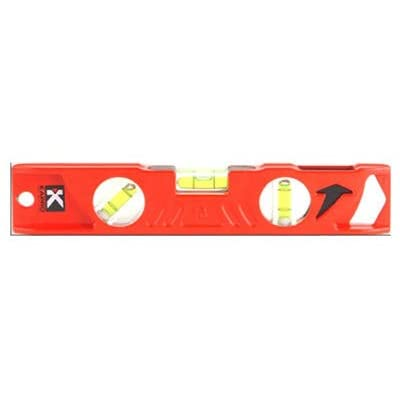 10-Inch Small Parts Kapro 923-10-10 Cast Aluminum Toolbox Level with Plumb Site