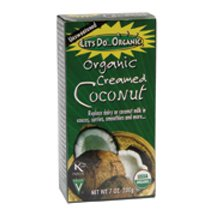 Lets Do Organic Creamed Coconut 7 Ounce