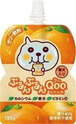 コカコーラ ぷるんぷるんQoo みかん味125gパウチ×30本入