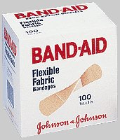 Johnson & Johnson 534444 Band Aid 1 x 3 Inch