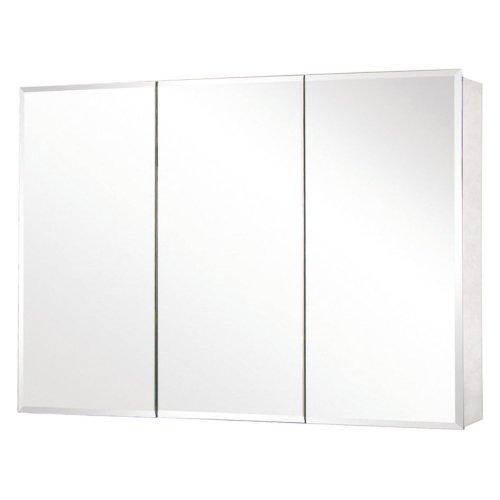 Lowest Price! Pegasus Tri-View Beveled Mirror 48W x 26H in. Medicine Cabinet SP4588