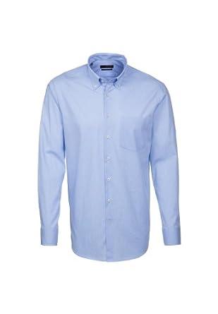 Seidensticker Herren Hemd Regular Fit UNO 1/1-Arm Bügelleicht 01.030302