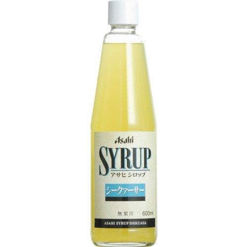 Asahi syrup citrus 600ml×12 book