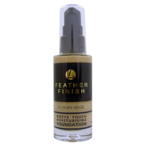 Mayfair, Feather Finish, Fondotinta opacizzante idratante, 01 Ivory Beige, 30 ml