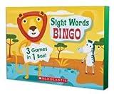 Sight Words Bingo - 3 Games In 1!