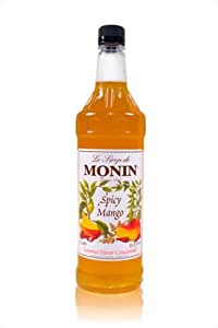 Monin Spicy Mango Mixer, 1 liter
