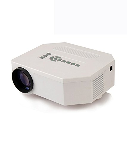Vox VP-01 Hdmi Hd Led Projector Home Cinema Theater Supporting Av Vga Usb Sd -White