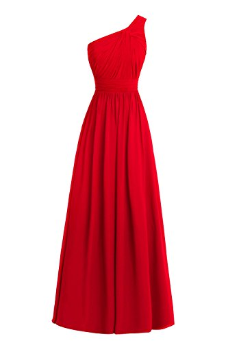 Queenmore Women's Elegant One Shoulder Maxi Dress for Special Occasion US24