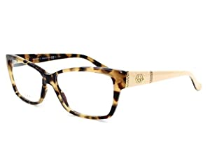 8600a14406 Gucci Eyeglasses frame GG 3559 L7B Acetate Rhinestones Havana Clothing