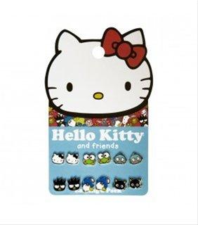 Hello Kitty-Set orecchini, Sanrio Friends-Set di 6 sane0113 Gifts -