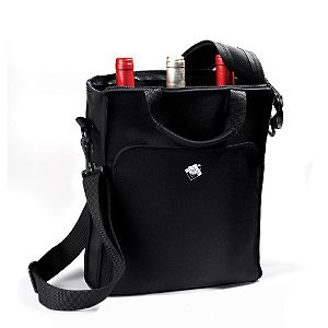 Wine Enthusiast 3-Bottle Neoprene Wine Tote Bag front-431920