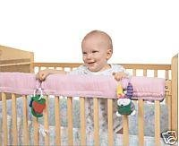 Easy Teether Crib Rail Cover Pink - 1