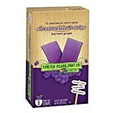 Stretch Island All-Natural Fruit Strips, Grape, 8 ct