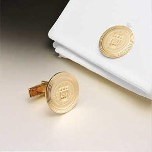 Boston College 18 Karat Gold Cufflinks by M.LaHart & Co.