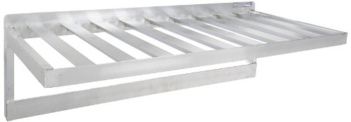 PVIFS TBWS2048PH Pot Rack Wall Shelf, 48