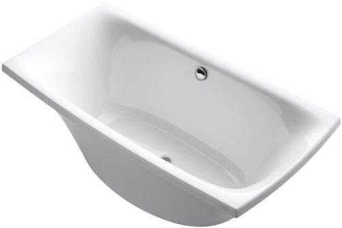 KOHLER K-11344-0 Escale Freestanding Bath, White