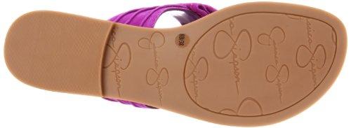 Jessica Simpson Women's Js-Jumba Ankle-Strap Sandal,Ultra Violet Kid Suede,6 M US