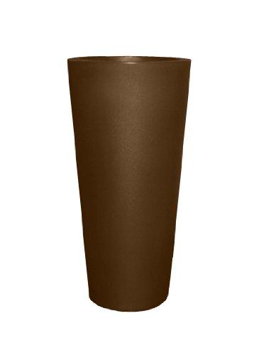 Tusco Products CTR20ES Cosmopolitan Round Garden Planter, 20-Inch, Espresso