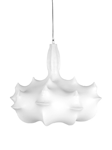 Kirch & Co. Invisible 1-Light Chandelier, White