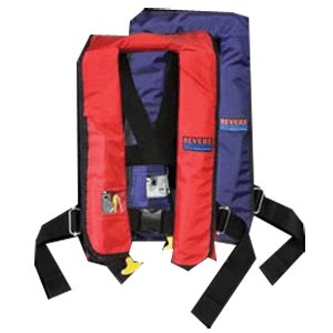 Revere ComfortMax Manual Inflatable Lifevest with Harness PFD