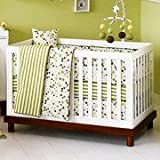 Baby Mod - Olivia 3-in-1 Baby Crib, Amber and White