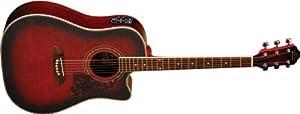 Oscar Schmidt OG2CE Dreadnought Acoustic Electric Guitar