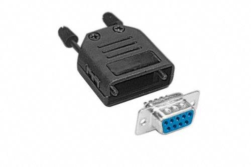 Kit connecteur DB9 femelle a souder + capot