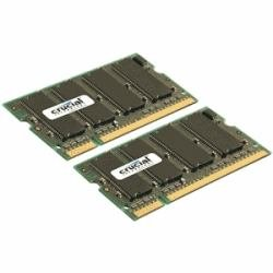 CT2KIT25664AC667 - CRUCIAL 4GB KIT (2GBX2) DDR2 CRUCIAL 667MHZ (PC2-5300) CL5 SODIMM 200PIN