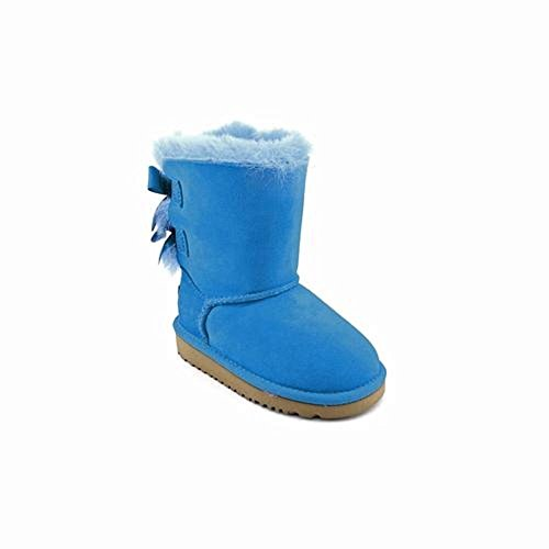 UGG Australia Girls Toddlers Bailey Bow Blue Sky Winter Boot - 9 (Blue Bow Uggs compare prices)