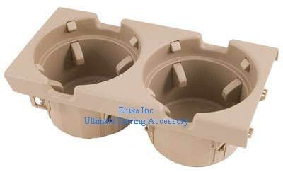 BMW Genuine Cup Holder Beige Tan for E46 - All 3 Series (1999 - 2005)