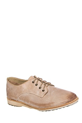 Unisex Derby Pin Punch Oxford