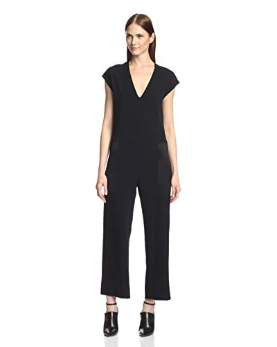 Derek Lam 10 Crosby Women's Satin Panel Jumpsuit