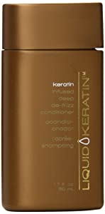 Liquid Keratin Travel Size Conditioner, 1.7 Ounce