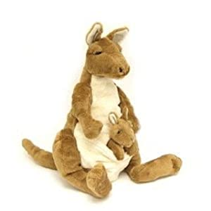 "Katie Kangaroo Hand Puppet 15"" by Timeless Toys by Timeless Toys"